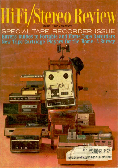 Picture of 1967 Stereo Review (HiFi Review) Magazine Issues (digital download)