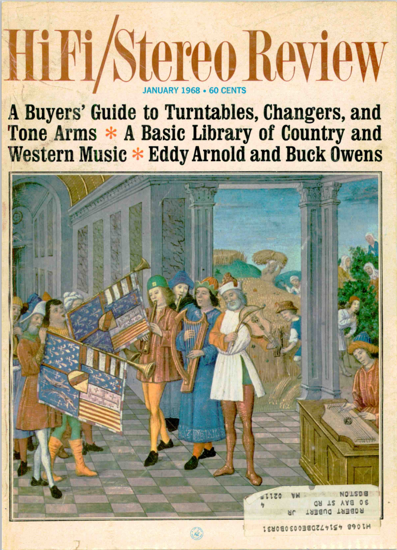 Picture of 1968 Stereo Review (HiFi Review) Magazine Issues (digital download)