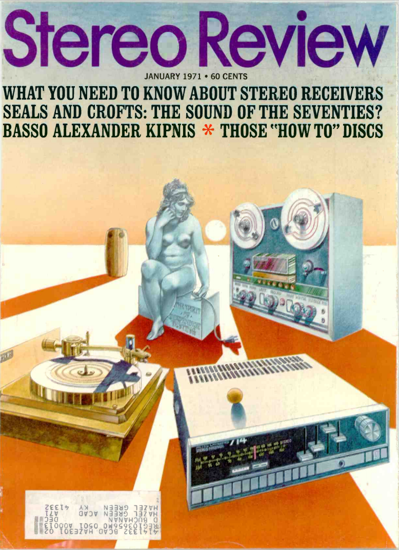 Picture of 1971 Stereo Review Magazine Issues (digital download)
