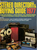 Picture of 1977 Stereo Review Magazine Issues (digital download)