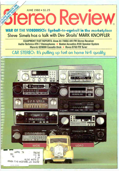Picture of 1980 Stereo Review Magazine Issues (digital download)