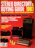 Picture of 1981 Stereo Review Magazine Issues (digital download)