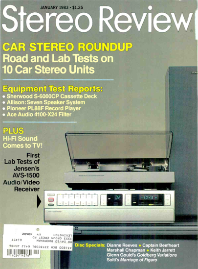 Picture of 1983 Stereo Review Magazine Issues (digital download)