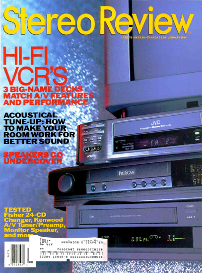 Picture of 1994 Stereo Review Magazine Issues (digital download)