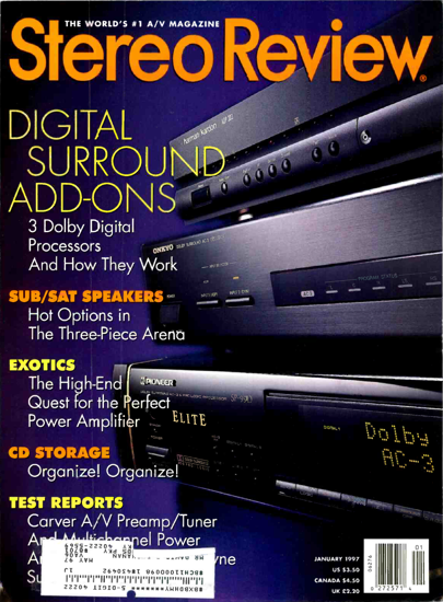 Picture of 1997 Stereo Review Magazine Issues (digital download)