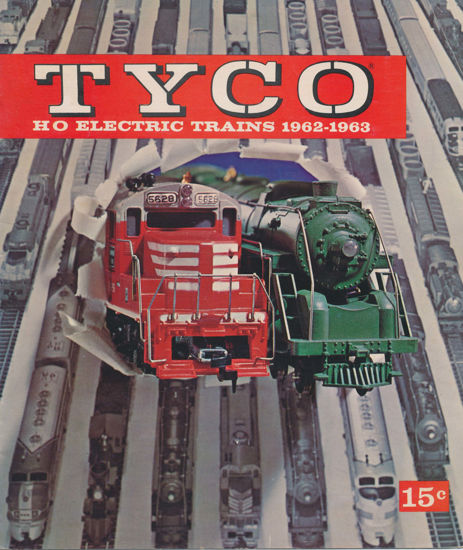 Picture of 1962 Tyco Catalog (digital download)