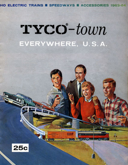 Picture of 1963 Tyco Catalog (digital download)