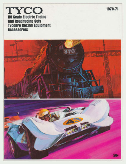 Picture of 1970 Tyco Catalog (digital download)