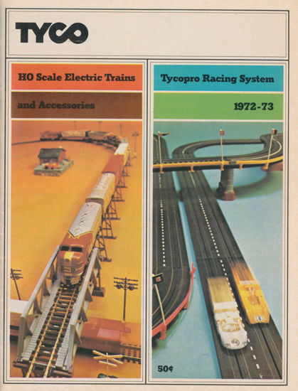 Picture of 1972 Tyco Catalog (digital download)