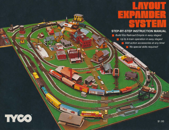 Picture of 1977 Tyco Layout Expander Manual (digital download)
