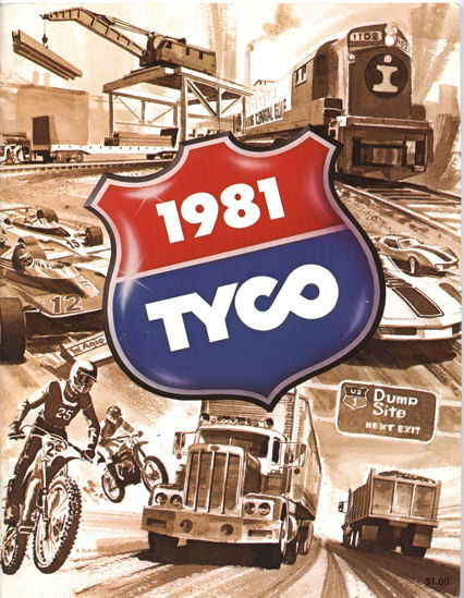 Picture of 1981 Tyco Catalog (digital download)