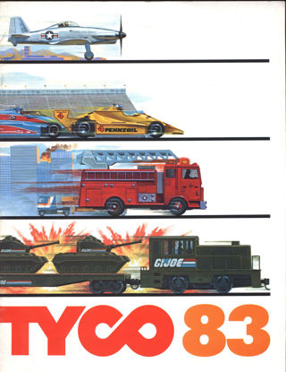 Picture of 1983 Tyco Catalog (digital download)