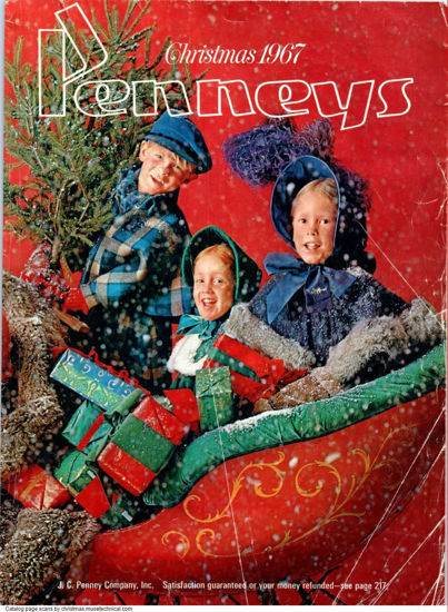 Picture of 1967 JCPenney Christmas Book (digital download)
