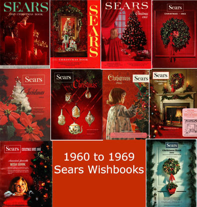 Picture of 1960-1969 Sears Wishbooks (read description)